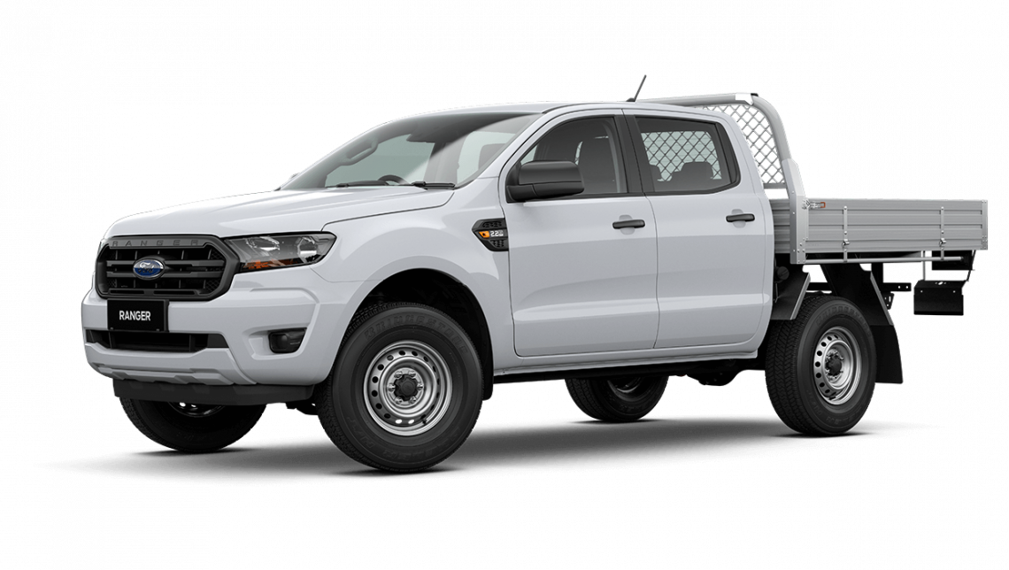 2020 MY20.75 Ford Ranger PX MkIII XL Double Cab Chassis Cab chassis Image 8