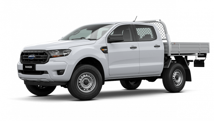 2021 MY21.25 Ford Ranger PX MkIII XL Double Cab Chassis Cab chassis Image 8