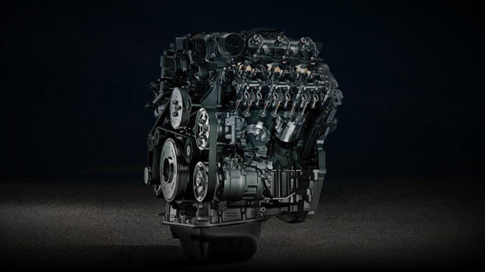 Class-leading V6 power Image