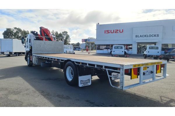 2015 Isuzu F Series FH FVD Crane truck Image 3