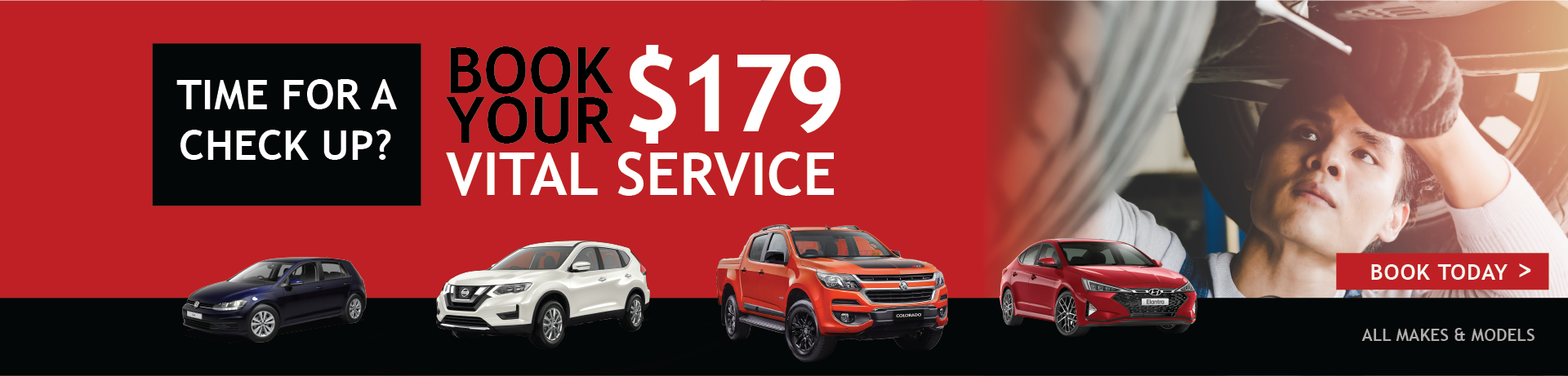 Book your $179 Vital Service