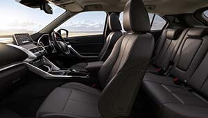 Eclipse Cross Compact yet Spacious