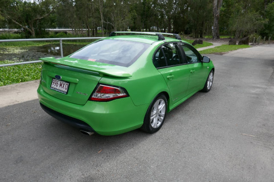 2010 Ford Falcon FG Sedan Sedan