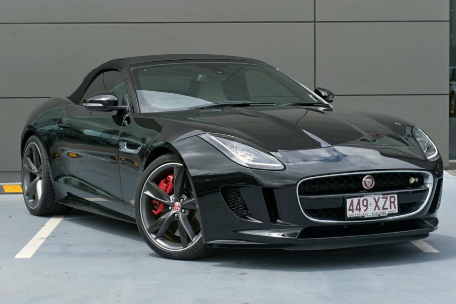 2016 MY17 Jaguar F-type R  SCV8 404kW 8Spd Auto Convertible