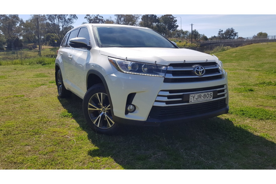 2017 Toyota Kluger 9T871001A-001 9T871001A Suv