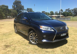 Lexus Rx450h SPORTS LUXURY GYL15R MY12
