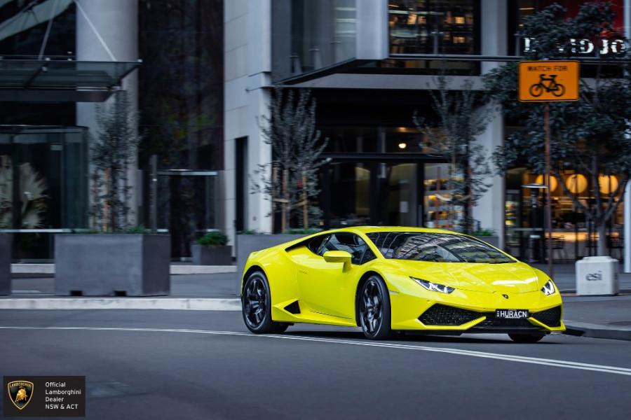 2018 Lamborghini Huracan LP610-4