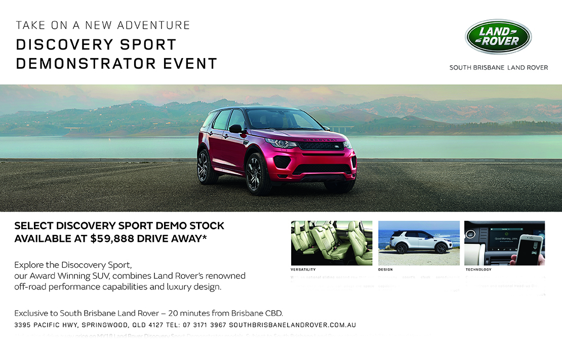 Discovery Sport Demo from $59,888 Drive Away