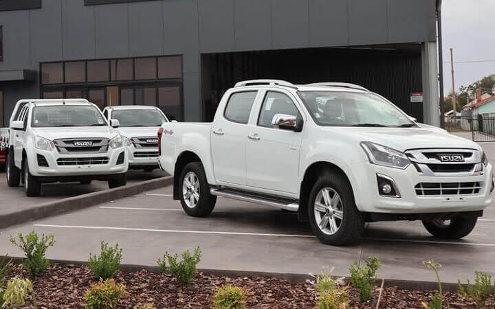 Gunnedah Isuzu UTE location photo