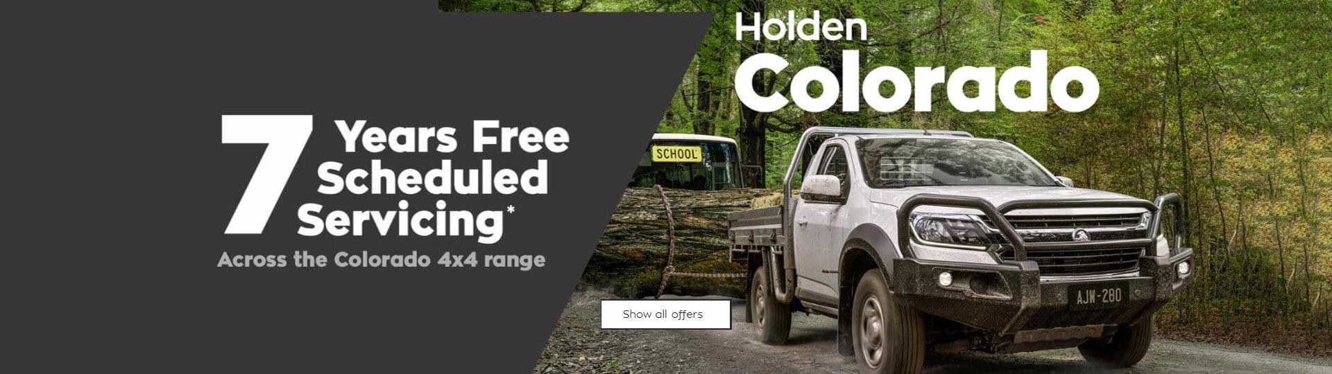 2019 October Holden Offer