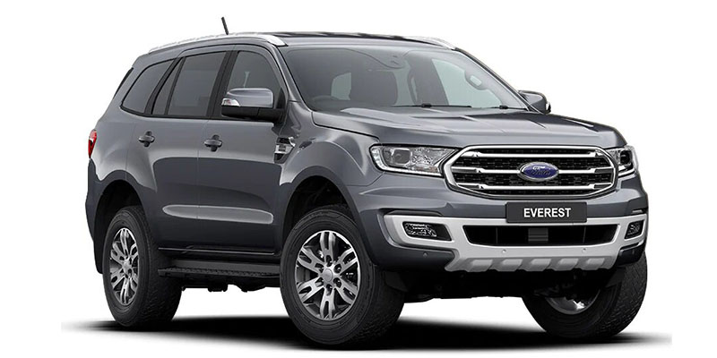 2019 MY20.25 Ford Everest UAII Titanium 4WD Sedan