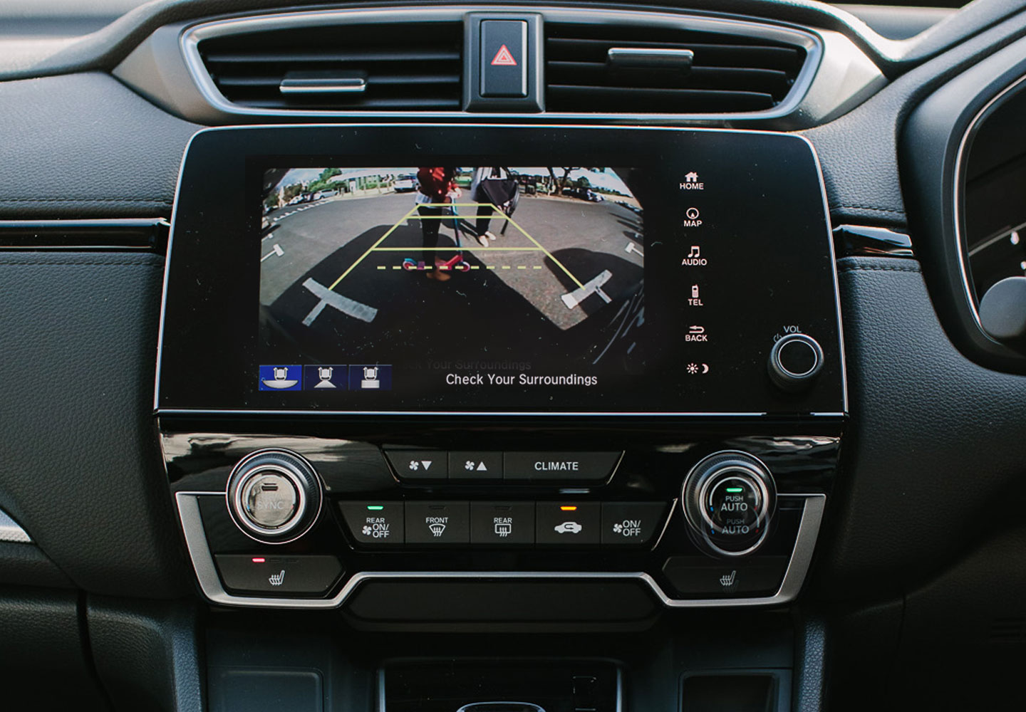 CR-V Multi-angle Reversing Camera