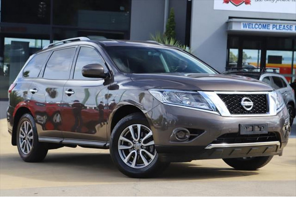 2016 Nissan Pathfinder R52 MY16 ST Suv Image 2