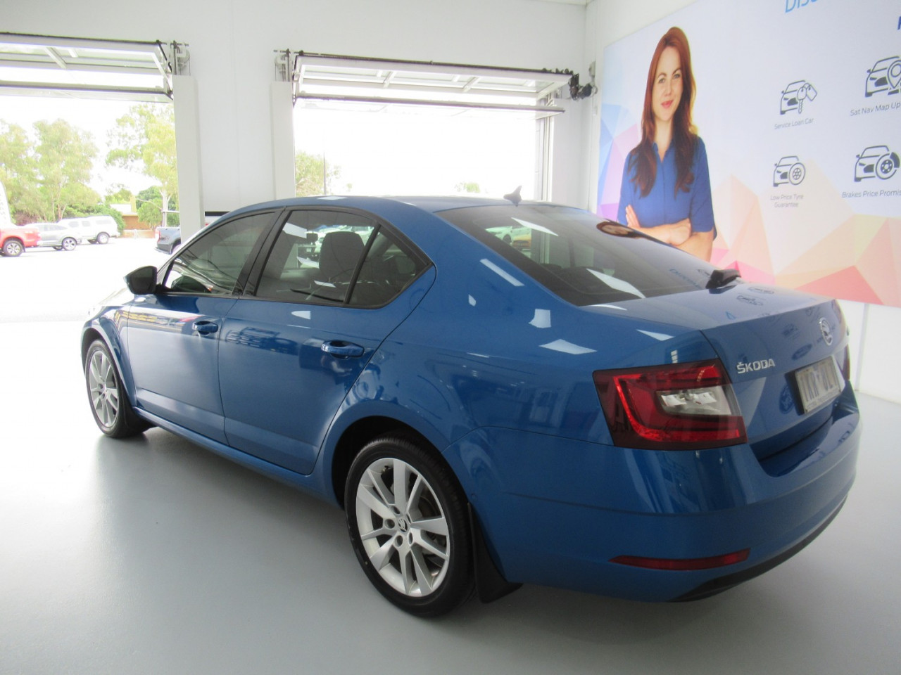 2017 MY18 Skoda Octavia NE MY18 110TSI Sedan Image 9