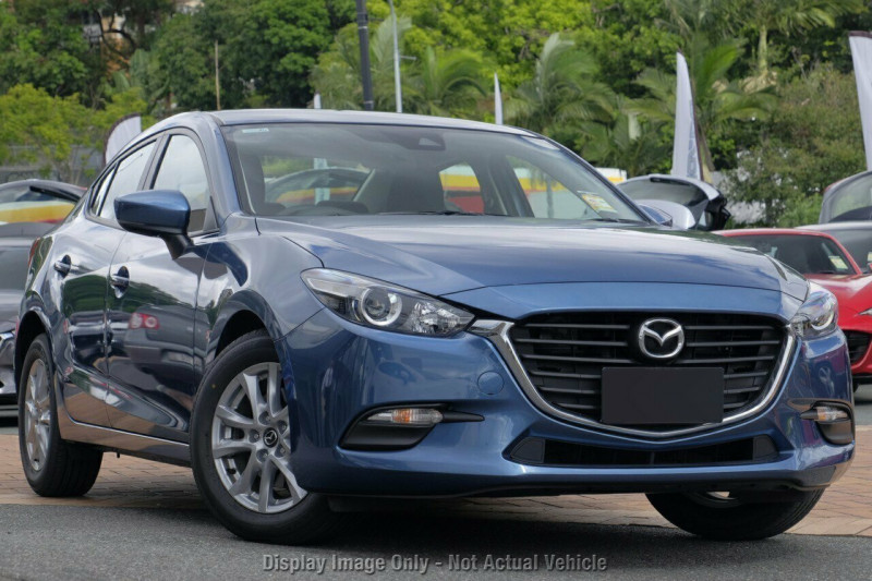 print 2018 mazda 3 bn series neo sport sedan sedan - sunshine coast