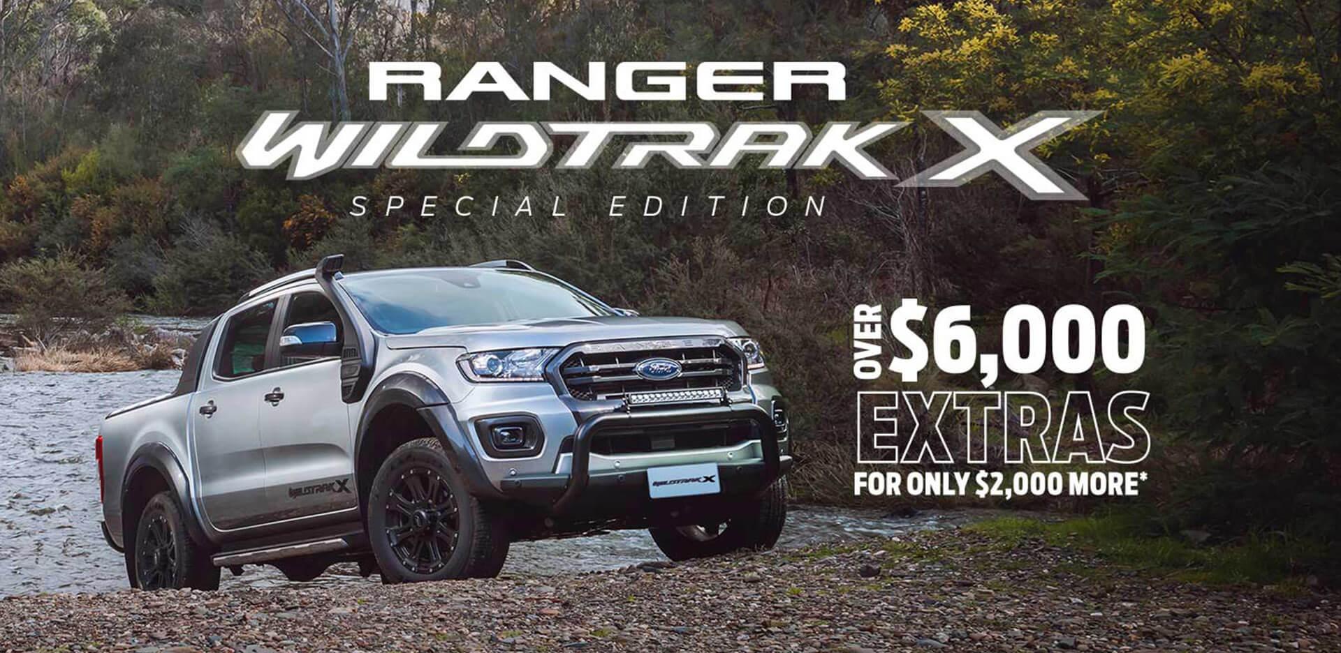 Ford Ranger Wildtrak X Offer