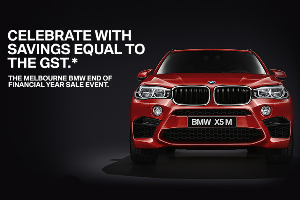 The Melbourne BMW End of Financial Year Sale Event