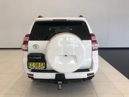 2015 Toyota Landcruiser Prado GDJ150R GXL 4x4 wagon Image 5