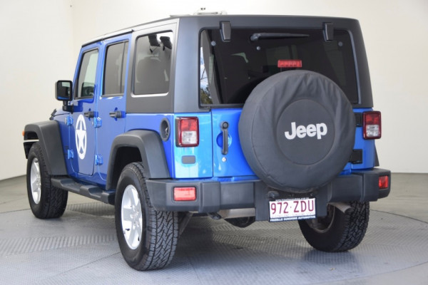 2015 Jeep Wrangler JK MY2015 Unlimited Softtop Image 3