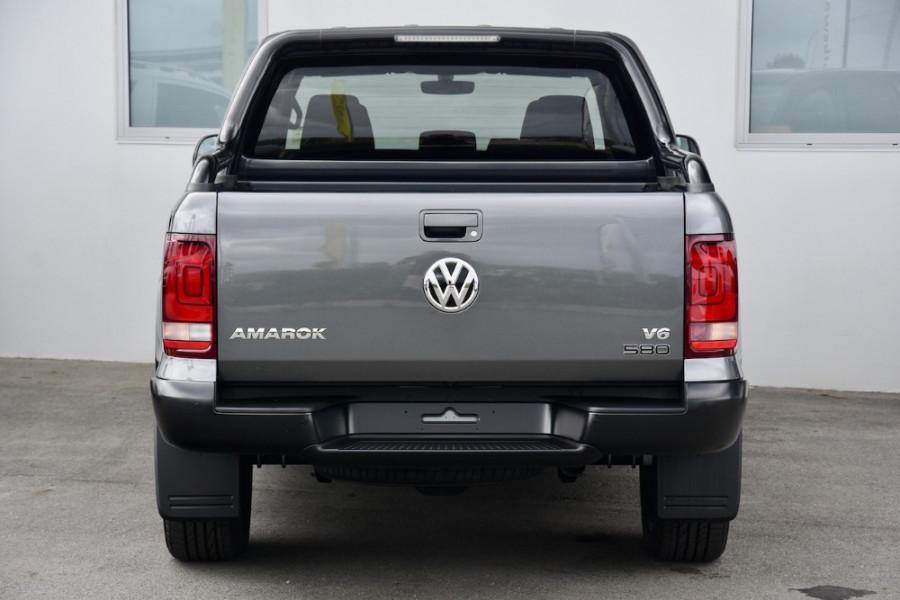 2019 MY20 Volkswagen Amarok 2H TDI580 Highline Black Utility