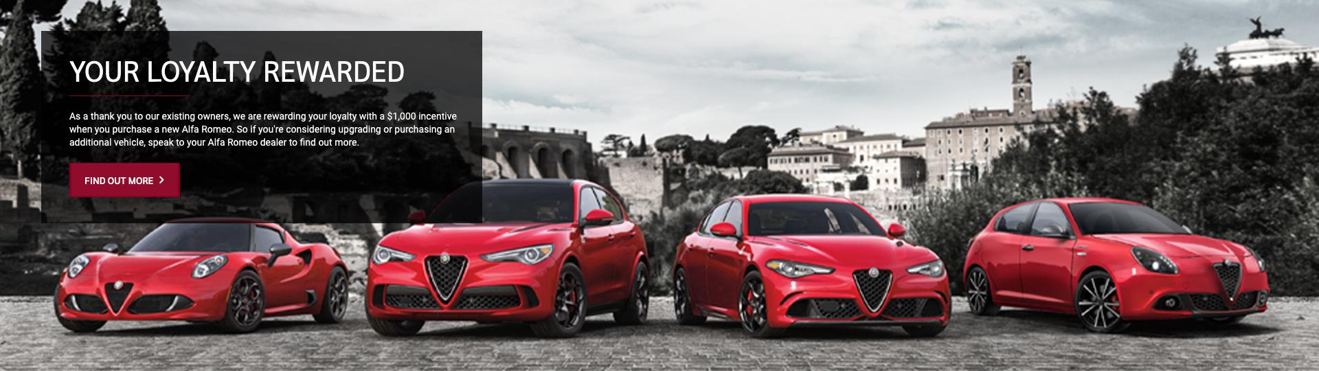 Alfa Romeo July Offers