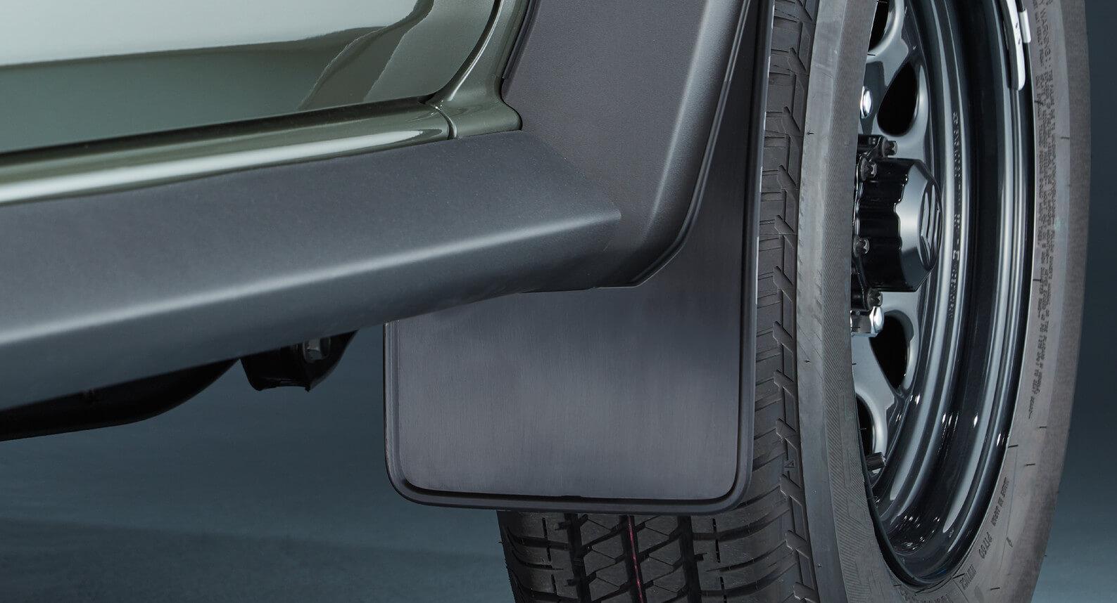 Jimny - Mud Flap Set - Front (Black)