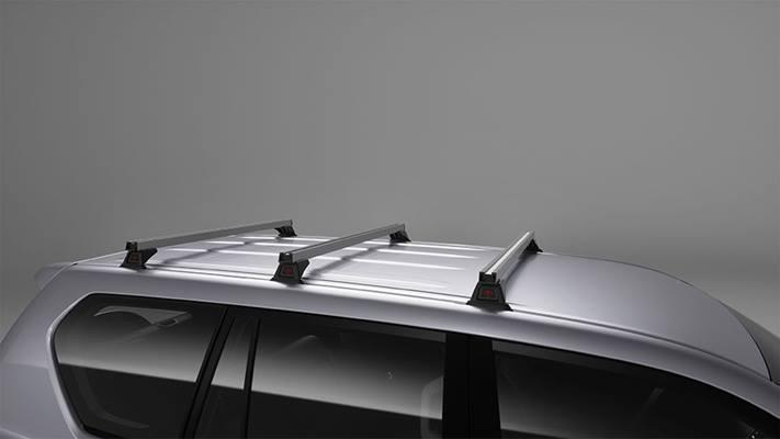 Heavy Duty Roof Rack – 3 Bar Set (Non Roof Rail Type)