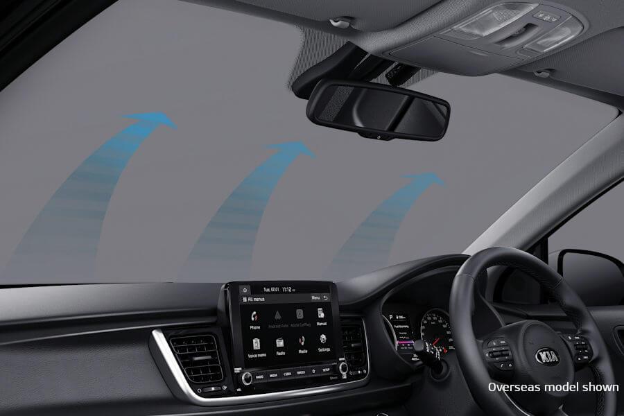 Auto Window Defog System