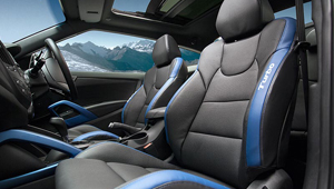 Veloster Sporty Seating