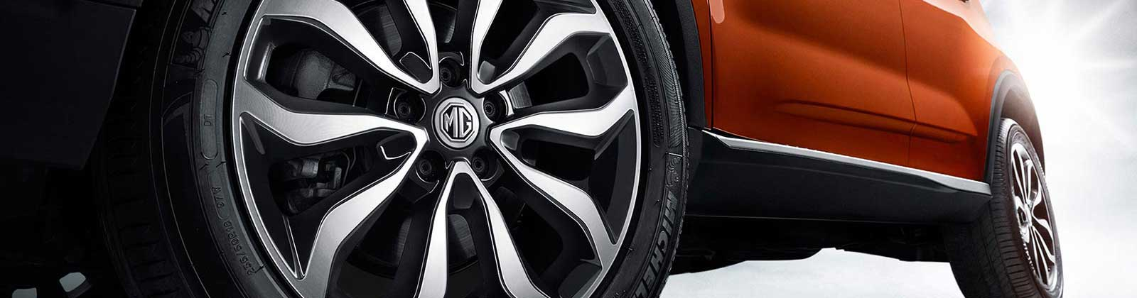 MG GS SUV alloy wheels