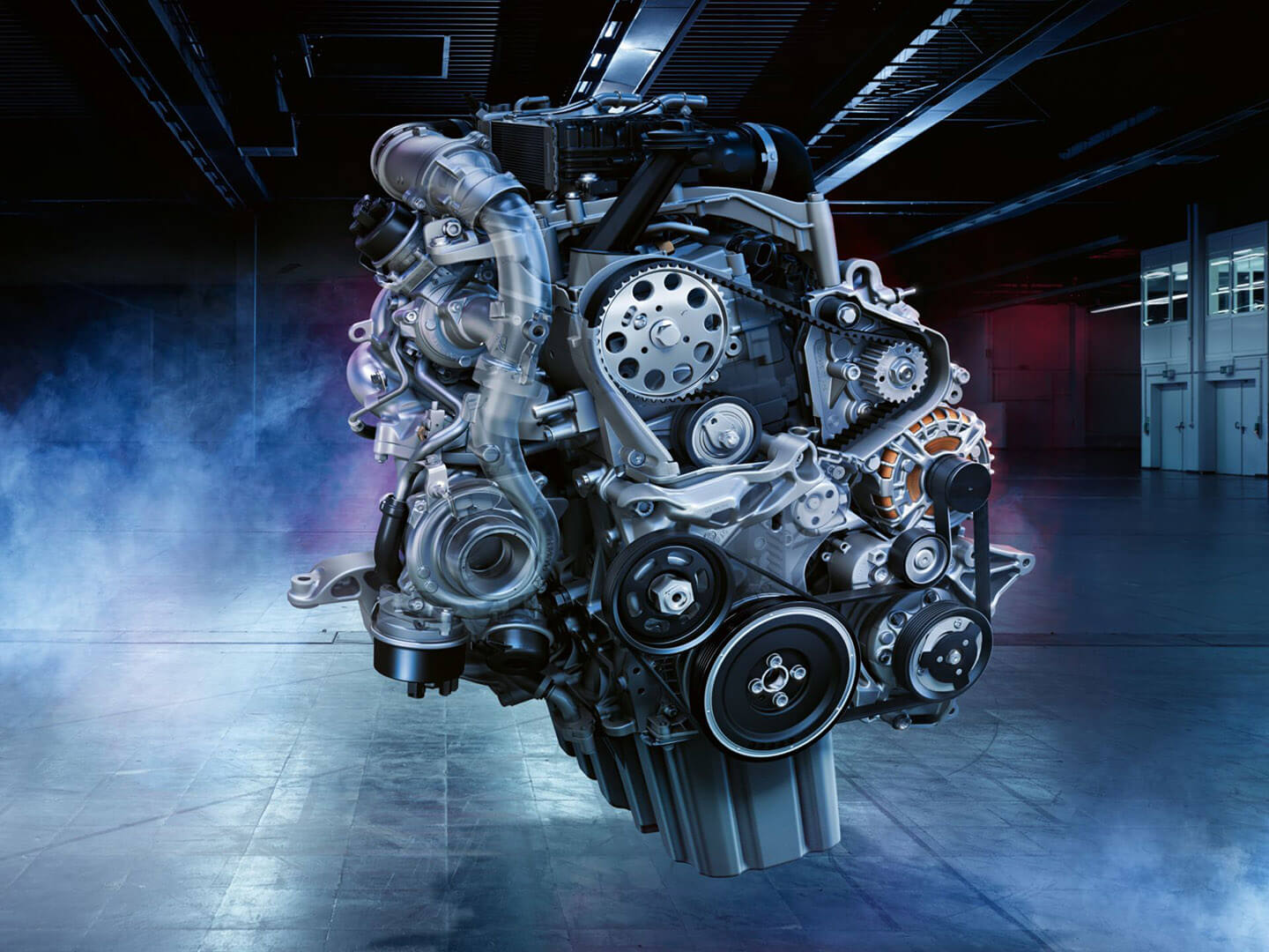 Move the way you want TDI engines Image
