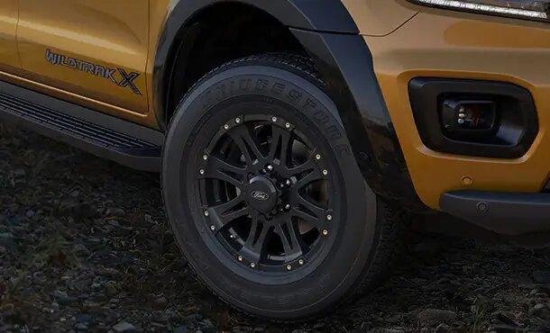 Ranger Wildtrak X 18-inch alloys
