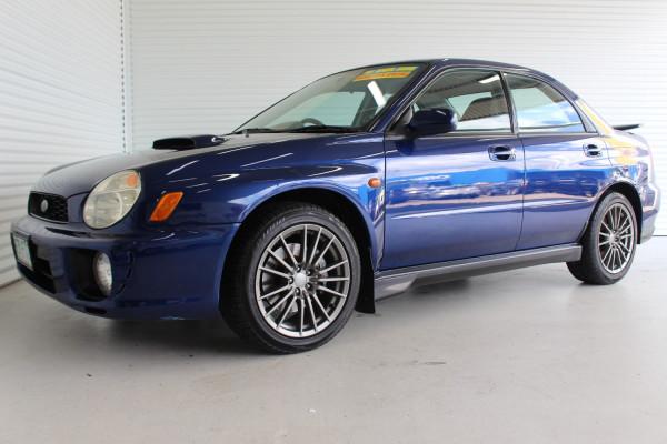 2000 MY01 Subaru Impreza S MY01 WRX Sedan Image 5