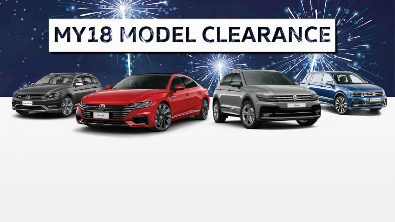 Volkswagen MY18 Plate Clearance