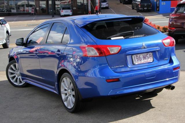 2009 MY10 Mitsubishi Lancer CJ MY10 VR-X Sportback Hatchback