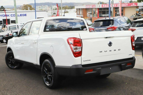2020 MY20.5 SsangYong Musso Q201 MY20.5 Ultimate Utility