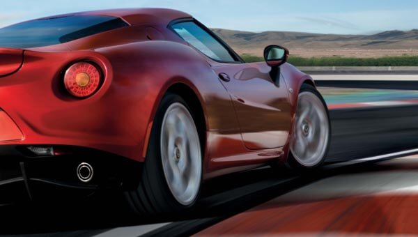 4C Coupe Italian attention to detail