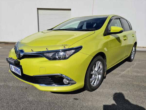 2015 Toyota Corolla ZRE182R Ascent Ascent Sport Hatchback