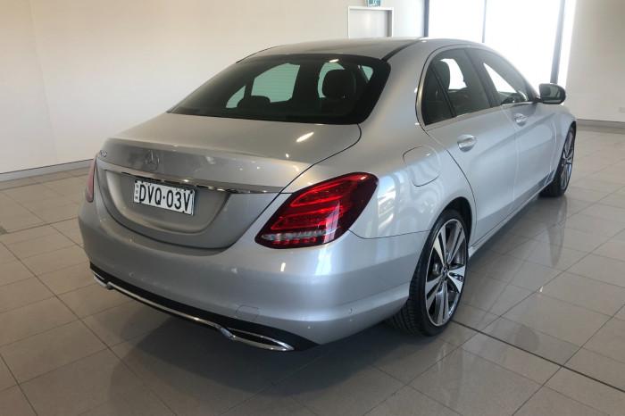 2018 MY08 Mercedes-Benz C-class W205 808MY C200 Sedan Image 7