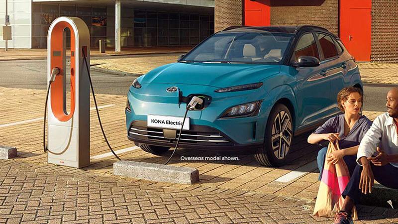 Kona Electric Charging made easy.