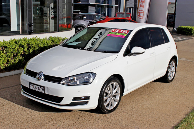 2013 Volkswagen Golf VII 110TDI 110TDI - Highline Hatchback