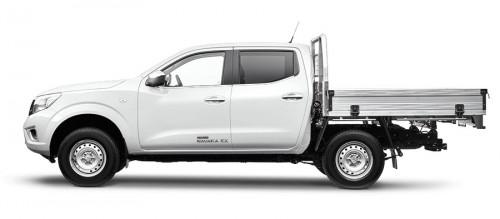 2018 Nissan Navara D23 Series 3 RX 4X4 Dual Cab Chassis Cab chassis