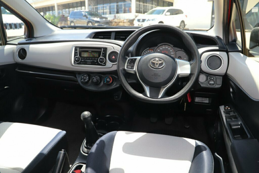 2012 Toyota Yaris NCP130R YR Hatchback