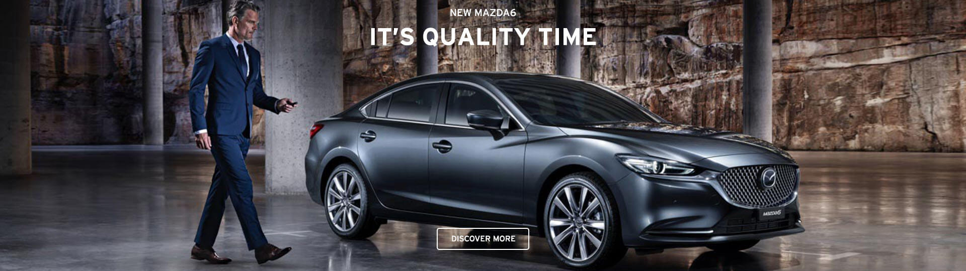New Mazda 6 in grey