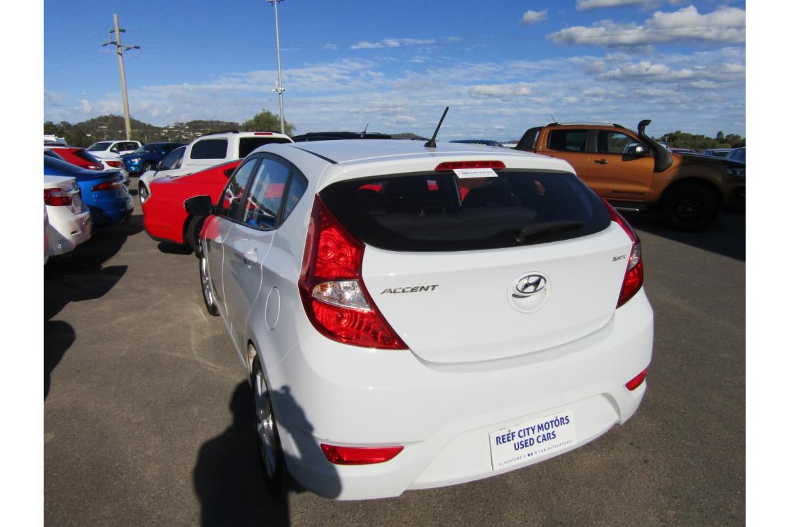 2018 MY19 Hyundai Accent RB6 MY19 SPORT Hatchback