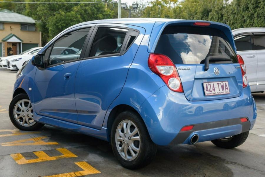 2013 Holden Barina Spark MJ MY13 CD Hatchback