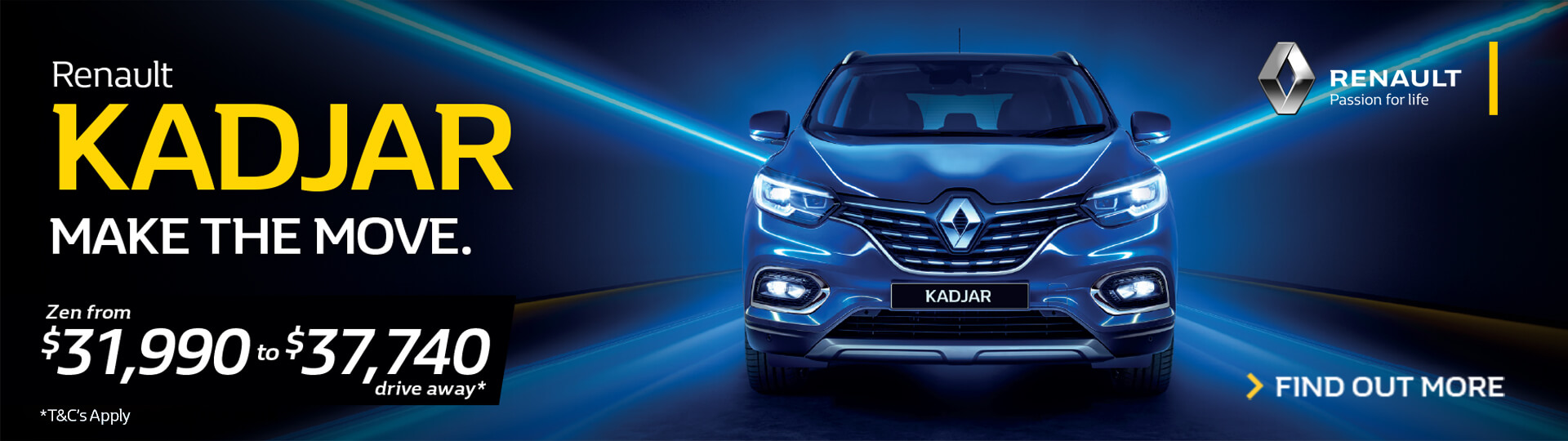 Renault Kadjar - Make the Move