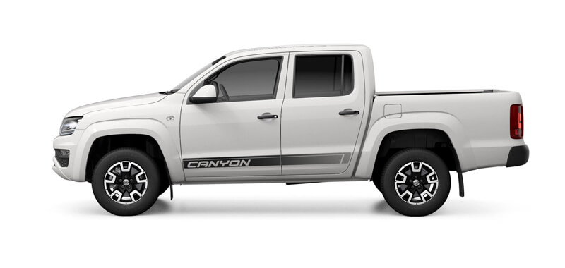 Amarok V6 Canyon 550 4x4 8 Speed Auto