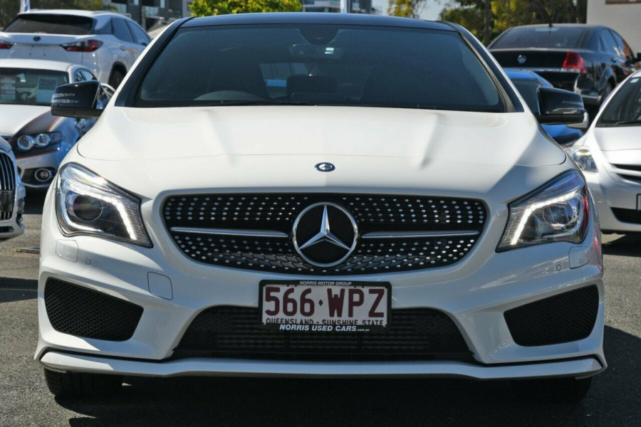 2016 MY07 Mercedes-Benz CLA200 C117 807MY DCT Coupe