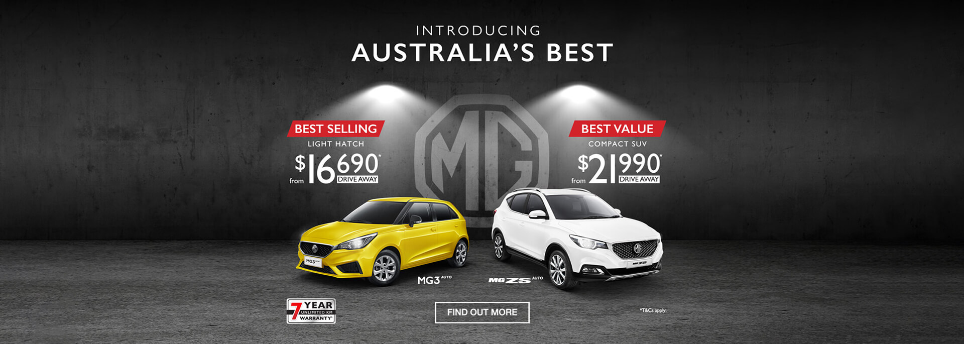 Australia's Best at MG